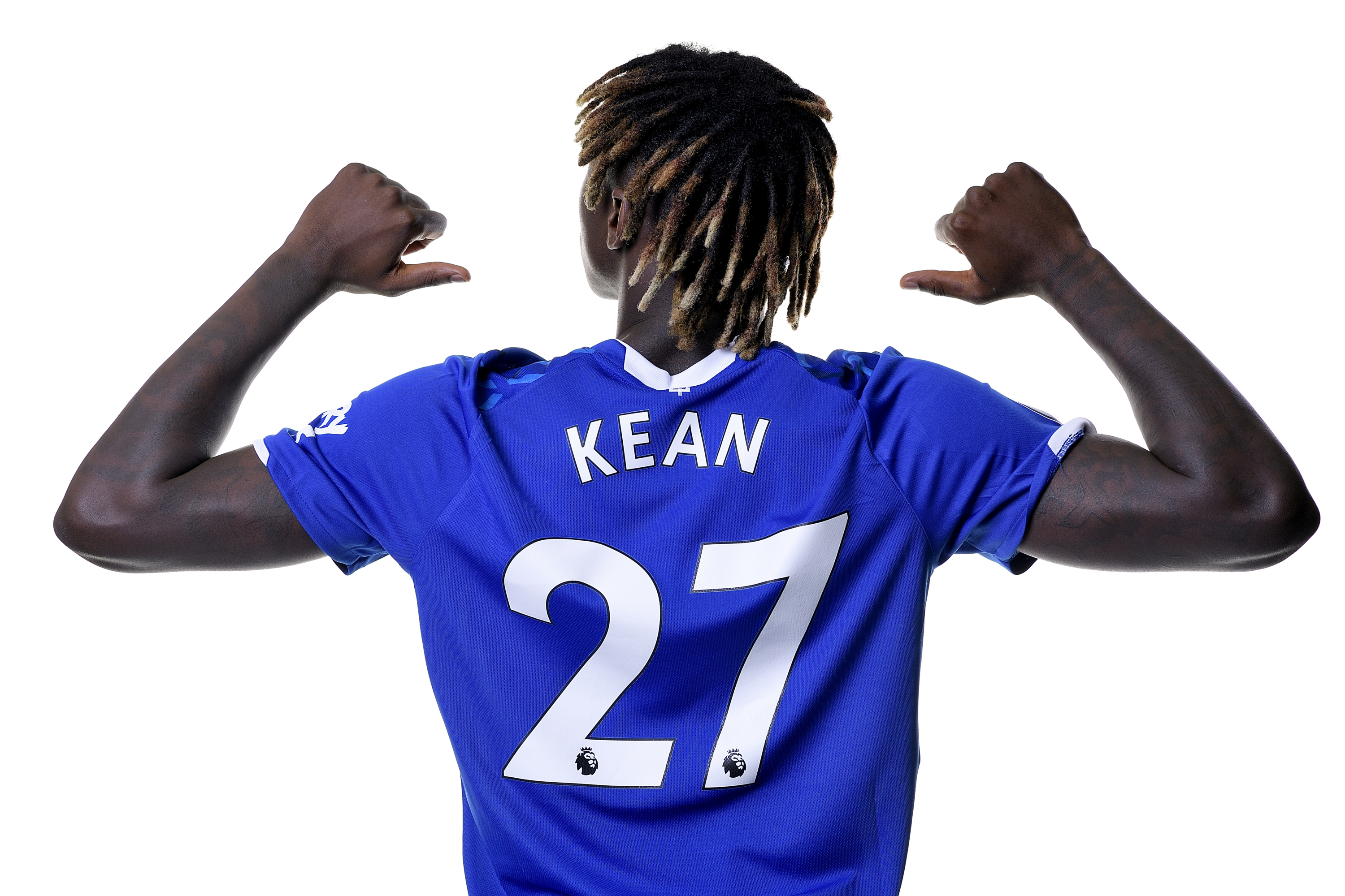 Kean To Wear Number 27 Shirt For Blues