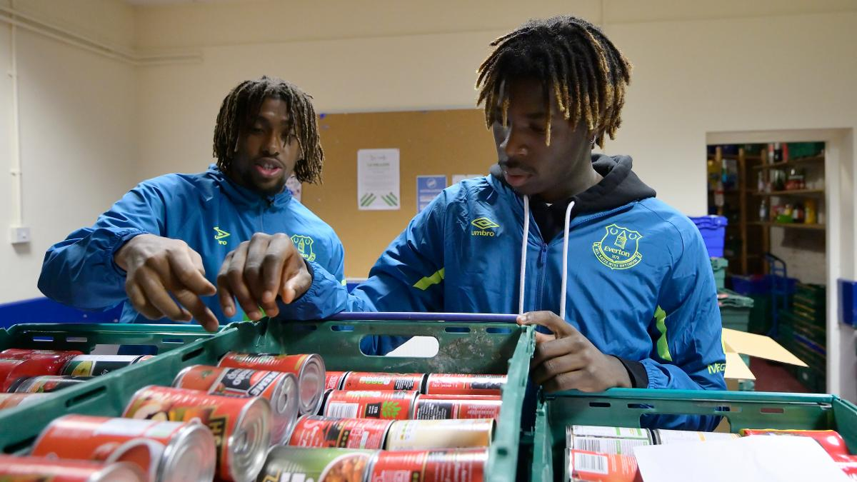 Image result for Football food bank