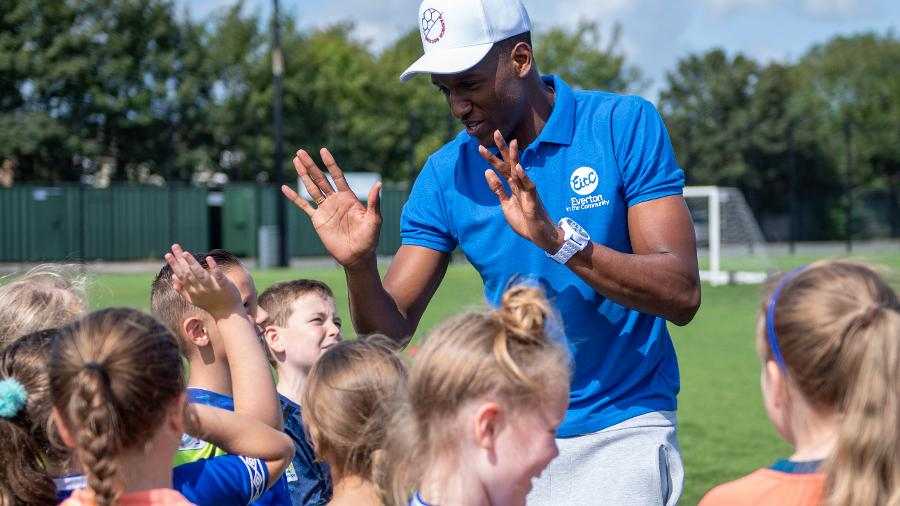 Record Breaking Year For Everton In The Community