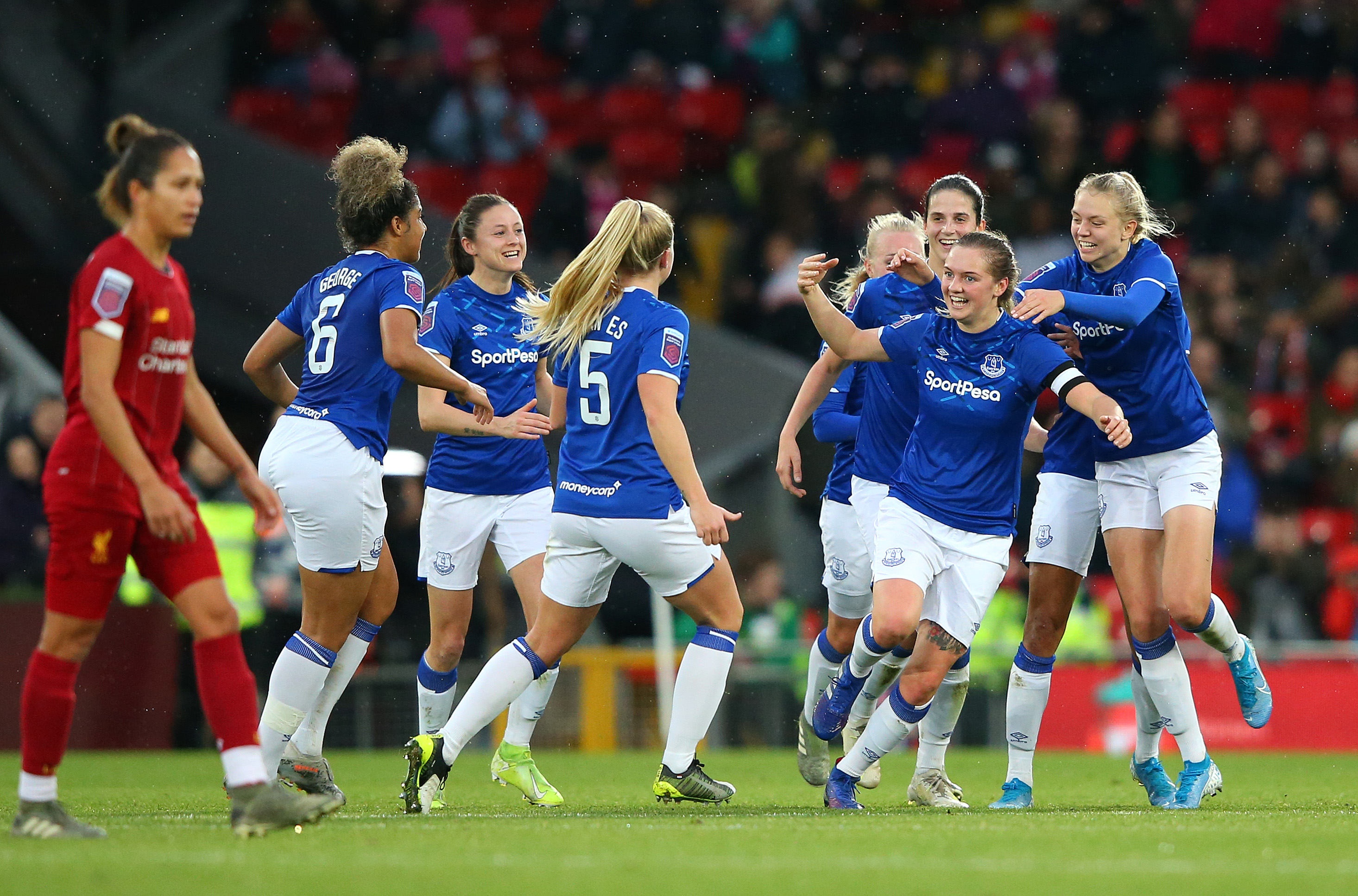 Everton Women V Liverpool Women