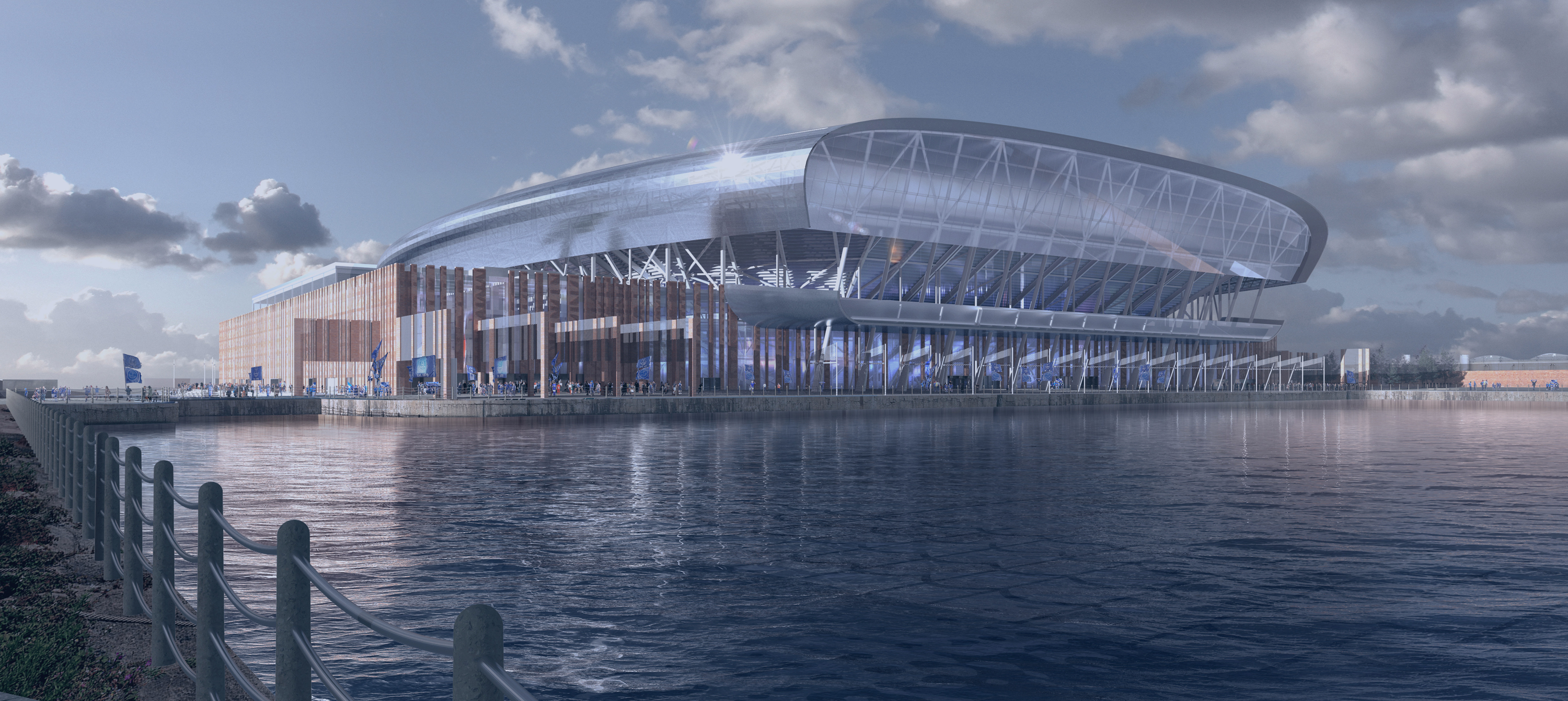 Everton Appoints Laing O Rourke To Deliver New Stadium