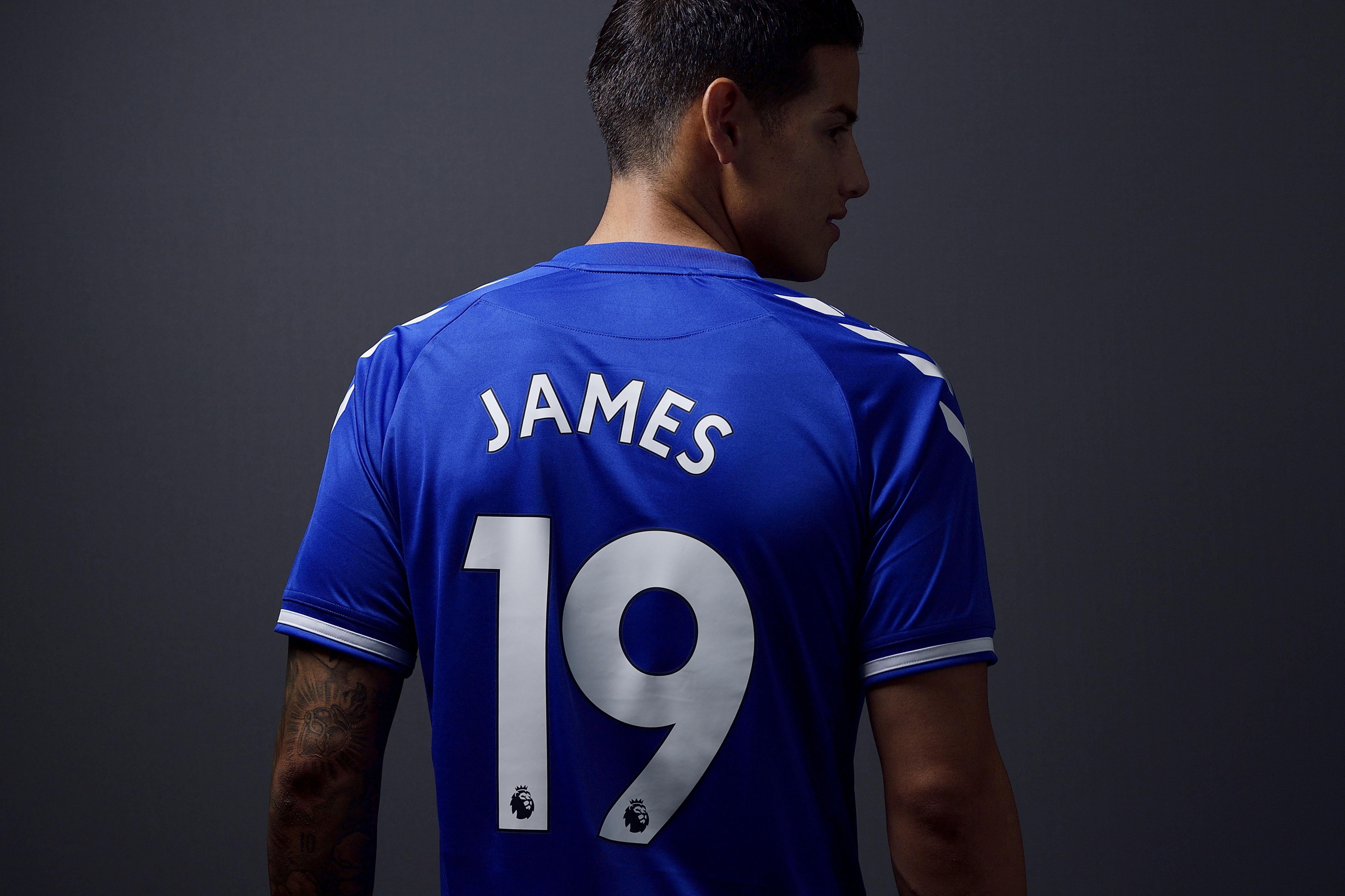 James Everton Shirt Number Confirmed