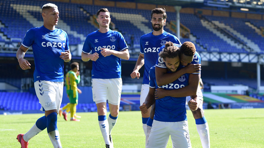 Five Star Everton Topple Baggies