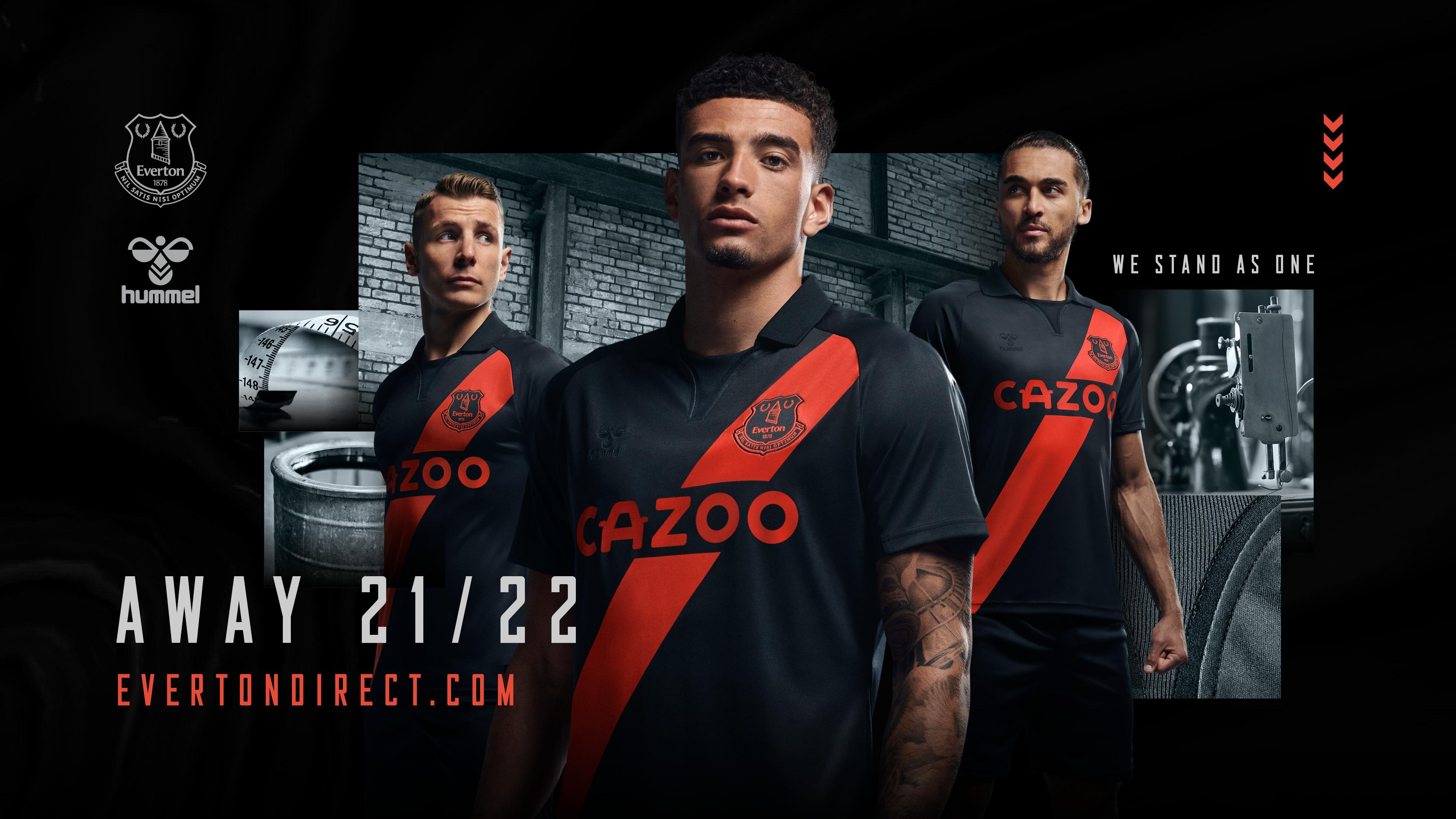 Everton Reveals 2021 22 Away Kit