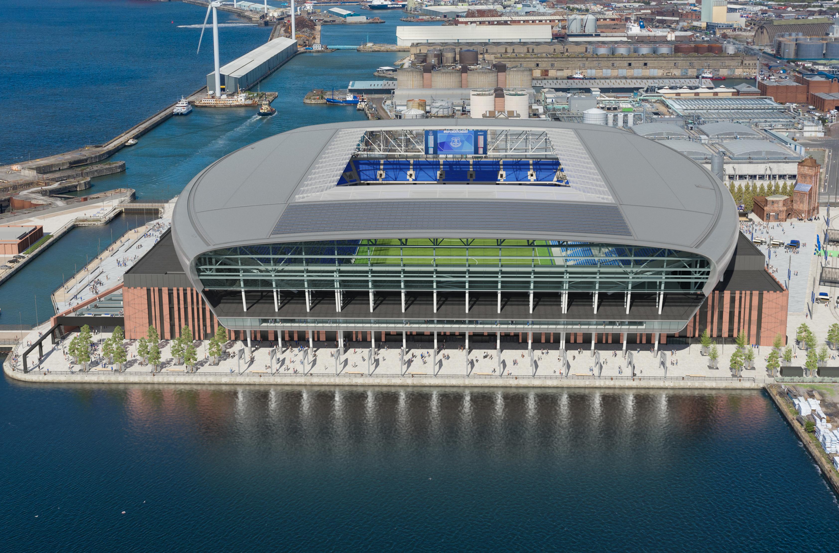 Colin Chong Everton Stadium Update