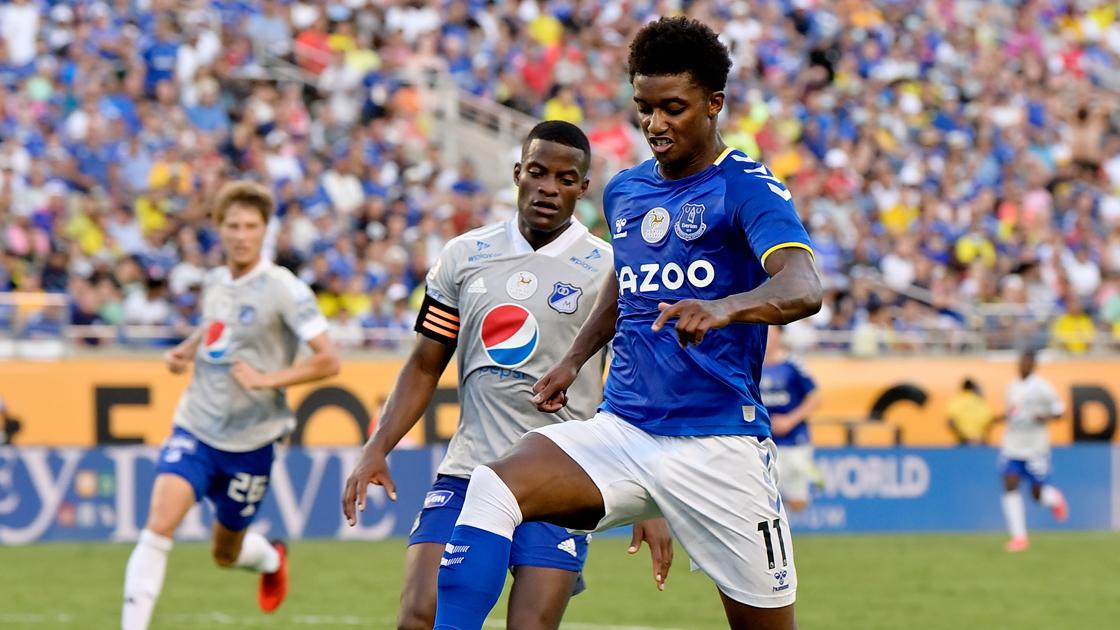 Four Everton Changes For Pumas Clash