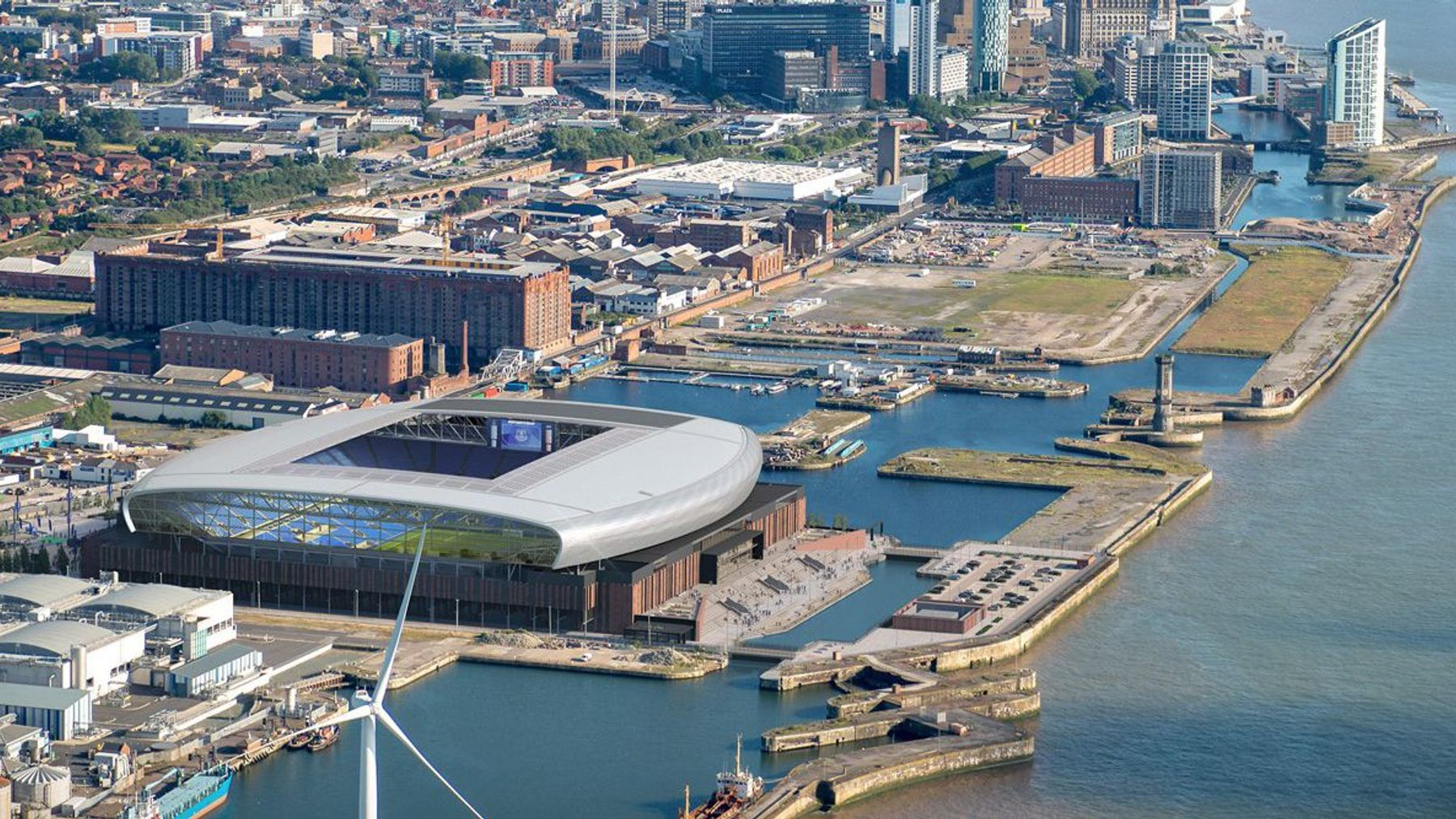 New Everton Stadium