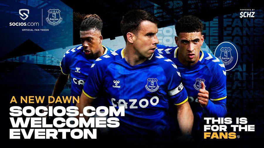 Everton Launch $EFC Fan Token On Socios.Com